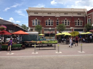 The expanded Downtown Market area in the City of Roanoke.