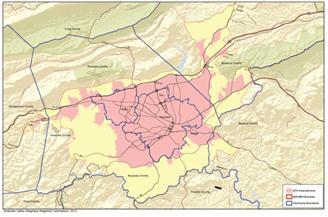 MPO Study Area Boundary