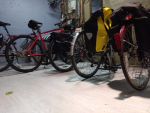 Bikes in the Bike Room